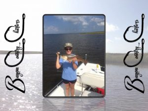 New Orleans Fishing Vickey with Redfish 1